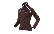 Odlo Ladies Jacket BLANK winetasting/purple sage/white